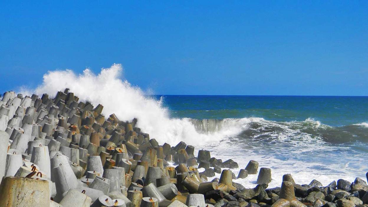 Pantai Glagah Indah Htm Rute Foto Ulasan Pengunjung