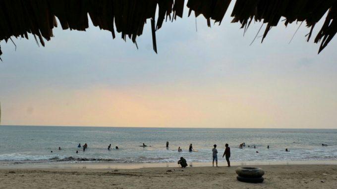 Pantai Carita Anyer Rute Menuju Lokasi Dan Harga Tiket Masuk
