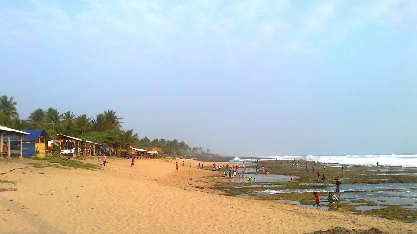 Sunset Pantai Cihara