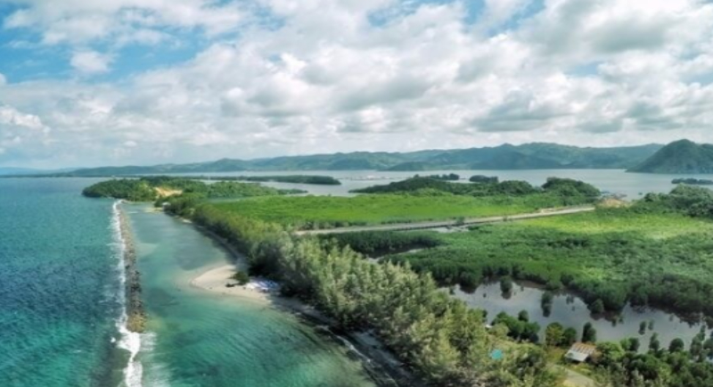 Fasilitas Pantai Hamadi