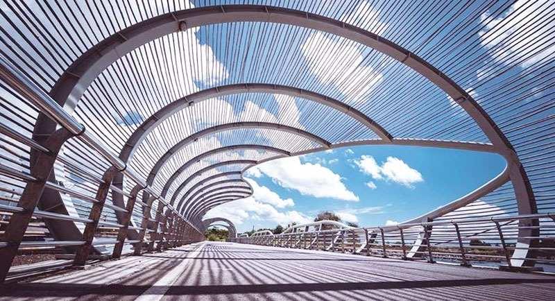 Jembatan Di Pantai Boom Banyuwangi