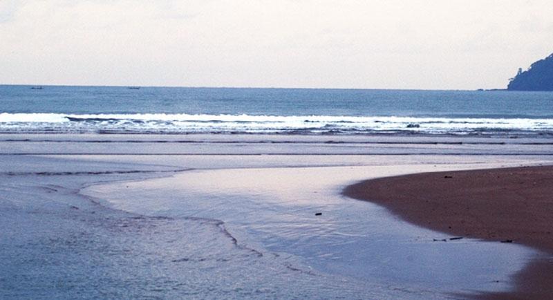Pantai Bulaksetra Pangandaran