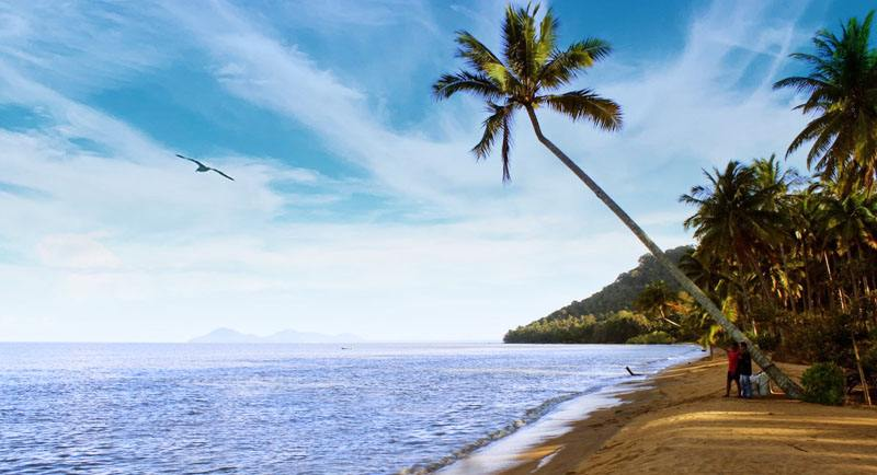 Pantai Gosong Kalimantan Barat