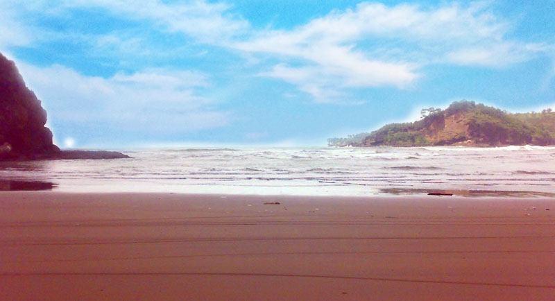 Pantai Palatar Agung Pangandaran