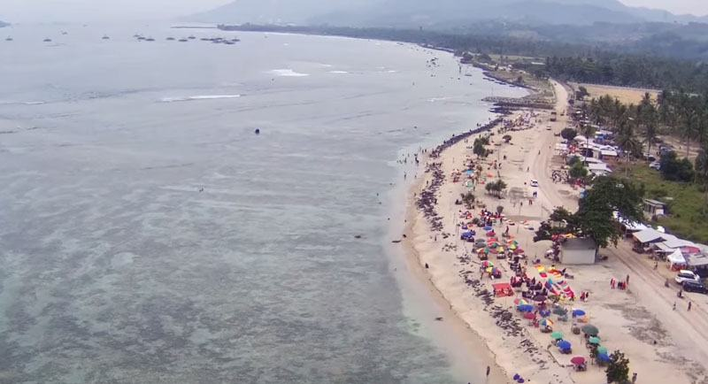 Pantai Sebalang Kutanya Lampung
