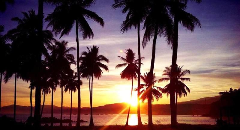 Sunset Di Pantai Pidakan