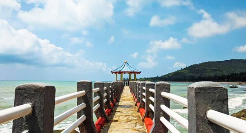 Harga Tiket Pantai Tanjuing Pesona