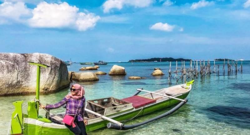 Lokasi Pantai Tanjung Kelayang