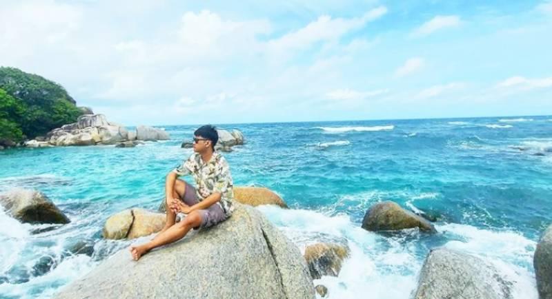 Obyek Wisata Pantai Tanjung Kelayang