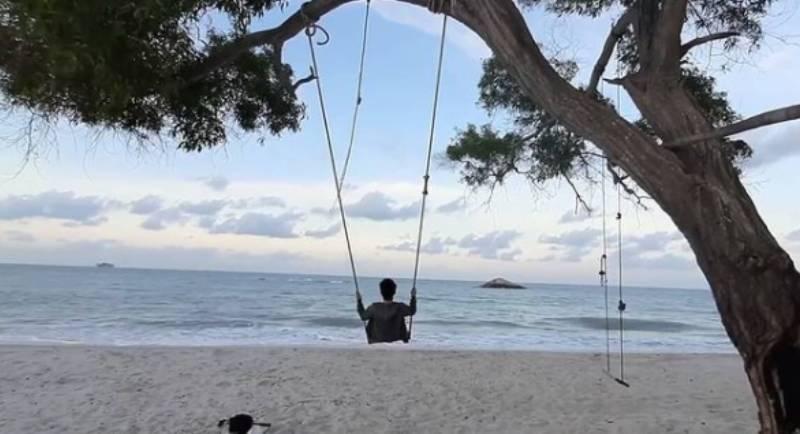 Pantai Rambak Bangka Belitung