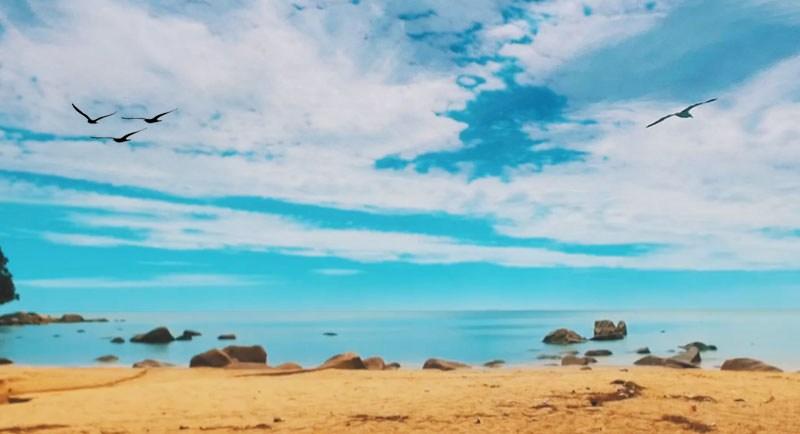 Kura Kura Beach Bengkayang