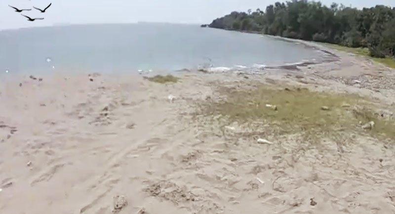 Obyek Wisata Pantai Jatisari Rembang