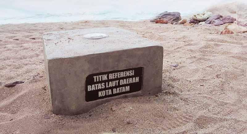 Pantai Cakang Titil Nol Kota Batam