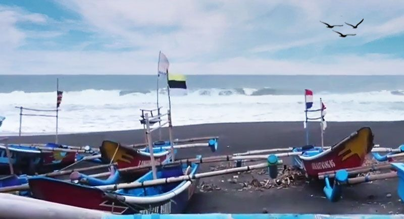 Pantai Genjik Grabag Purworejo