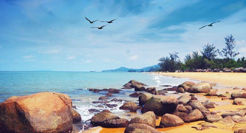Pantai Kura Kura Singkawang Pontianak Kalimantan Barat