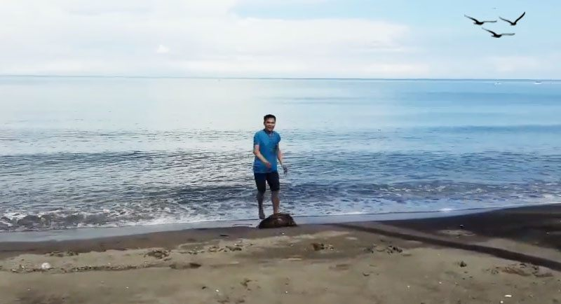 Pantai Lombang Lombang Yang Indah