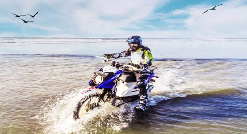 Pantai Ngudel Malang Dengan Motor Trail