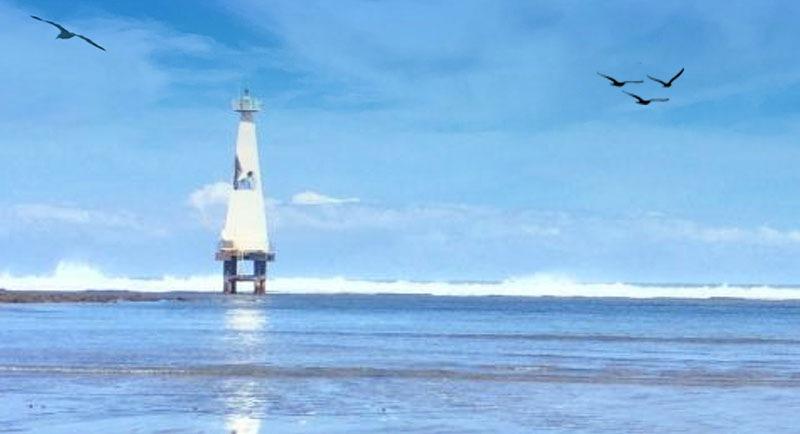 Pantai Sindangkerta Yang Indah