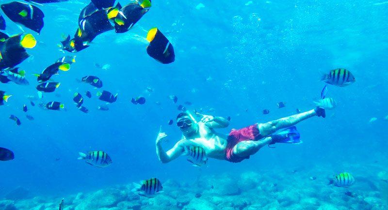 Snorkeling Di Pantai Puru Kambera