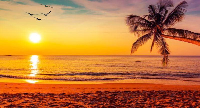 Sunset Di Pantai Asri Api Api