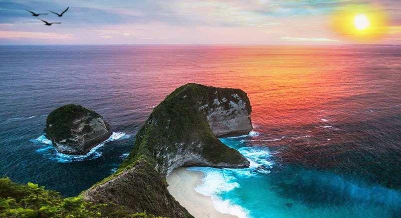 Sunset Di Pantai Atuh Bali