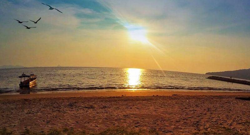 Sunset Di Pantai Bosur