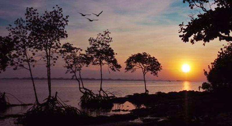 Sunset Di Pantai Cakang Barelang