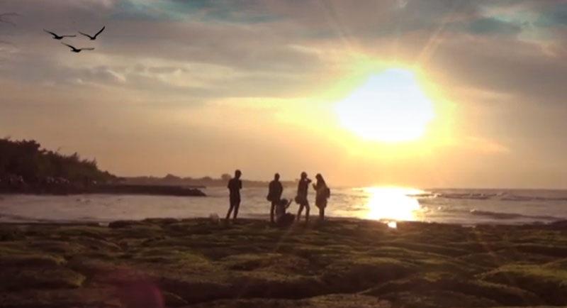 Sunset Di Pantai Jatisari