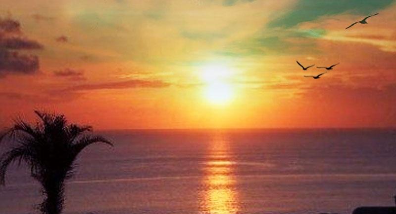 Sunset Di Pantai Laendra Karimunjawa