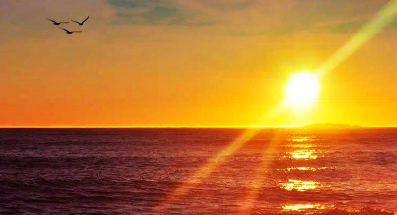 Sunset Di Pantai Marosi