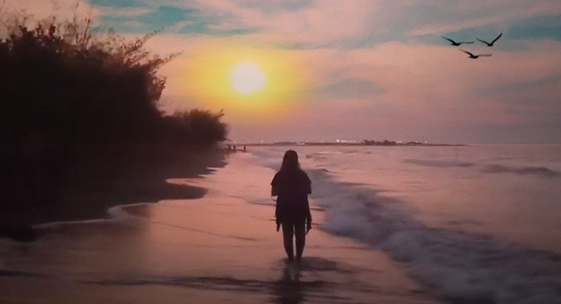Sunset Di Pantai Ngebum Kendal