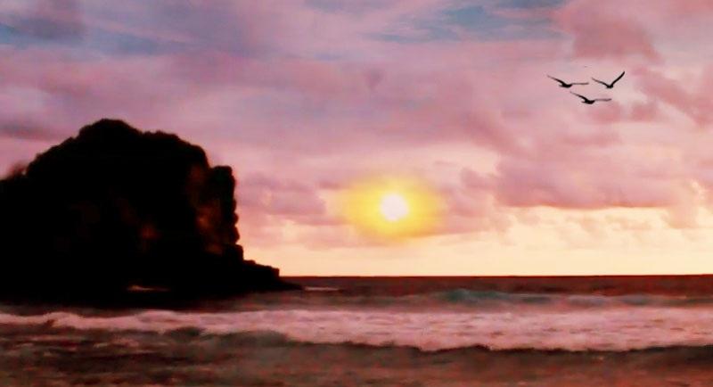 Sunset Di Pantai Ngudel