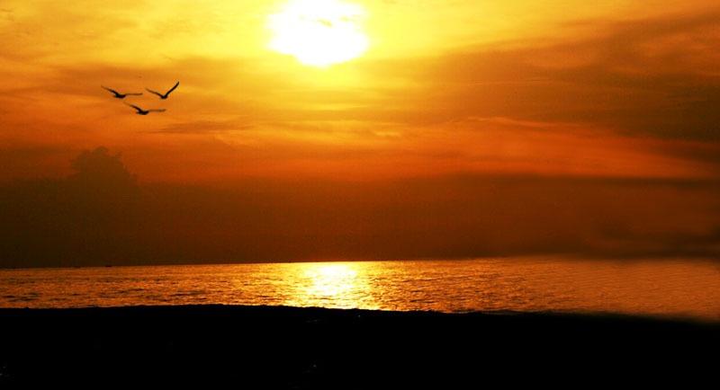 Sunset Di Pantai Pacar