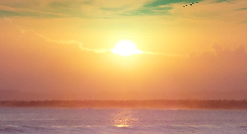 Sunset Di Pantai Pasir Kencana