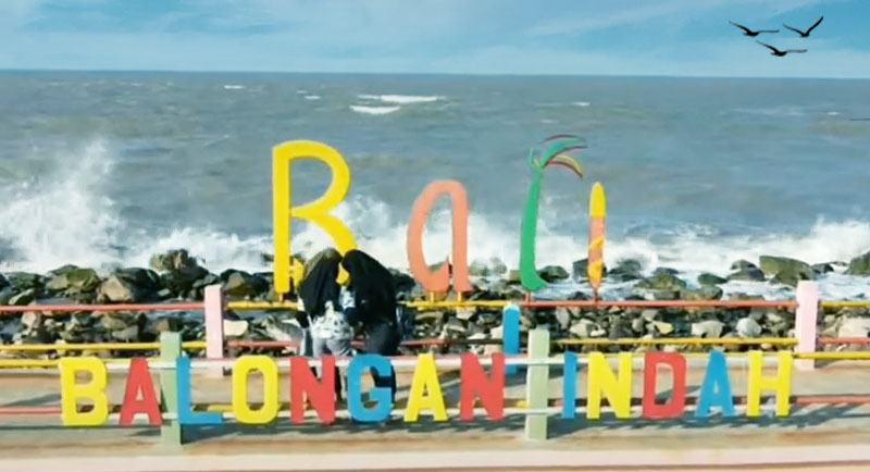 Wisata Pantai Balongan Indah