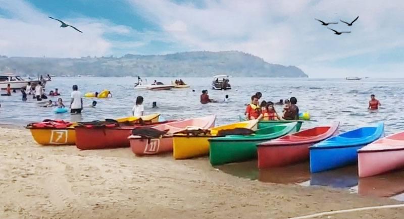 Wisata Pantai Bulbul Balige