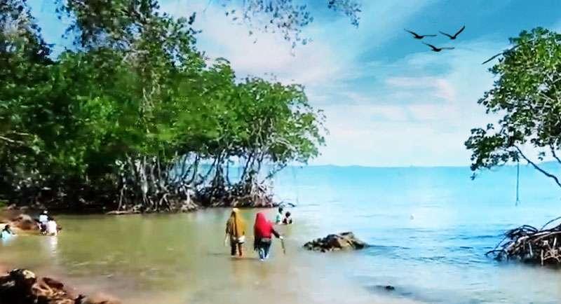 Wisata Pantai Cakang Barelang