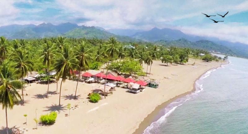 Wisata Pantai Lombang Lombang Mamuju