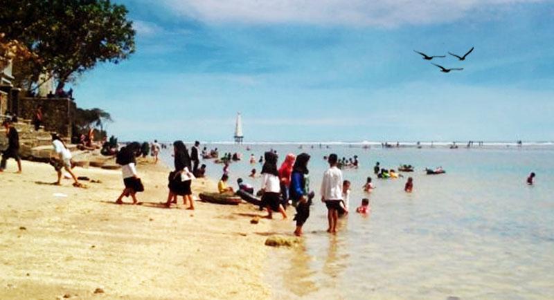 Wisata Pantai Sindangkerta Tasikmalaya