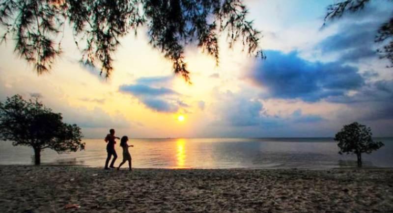 Rute Pantai Tanjung Pendam
