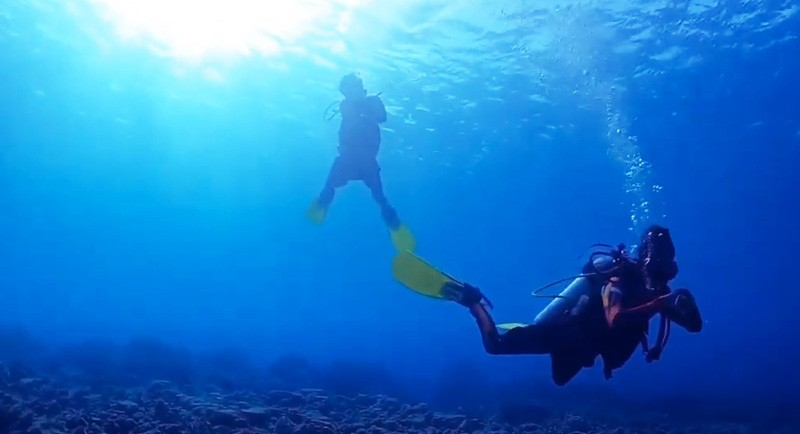 Diving Di Pantai Pabadilang