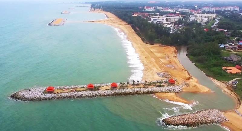 Obyek Wisata Pantai Tanjung Gelam