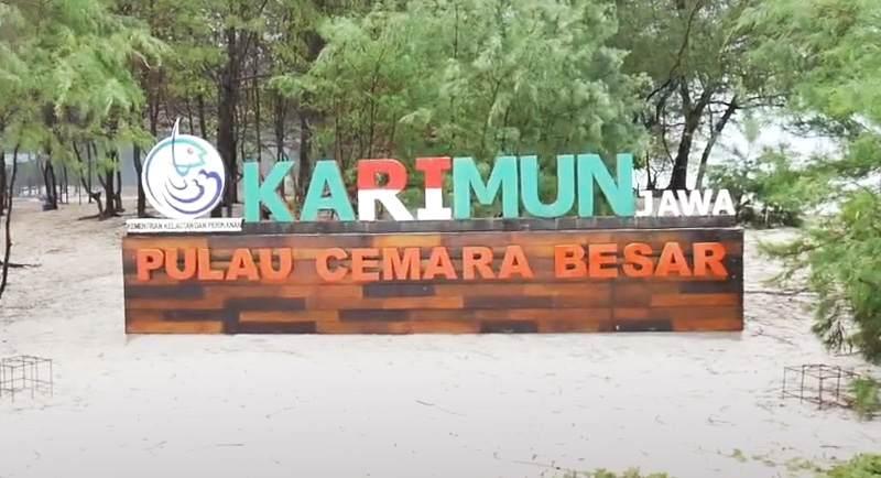 Rute Pantai Pulau Cemara Karimunjawa