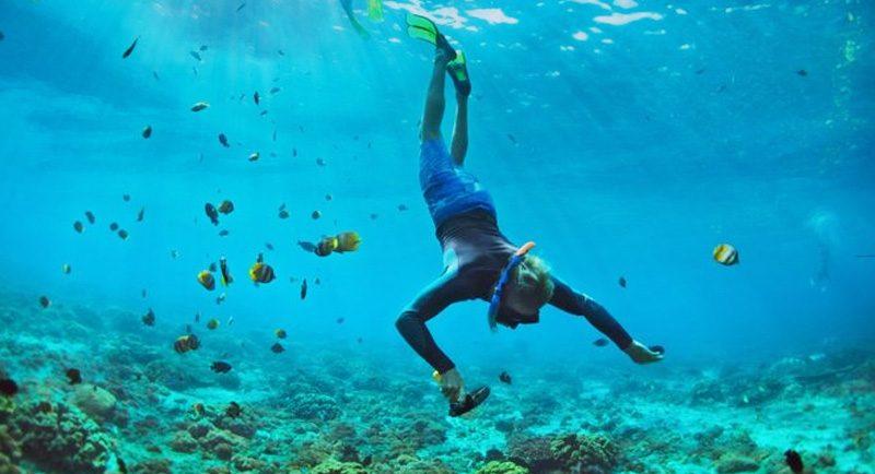 Snorkeling Di Pantai Pulau Geleang 1