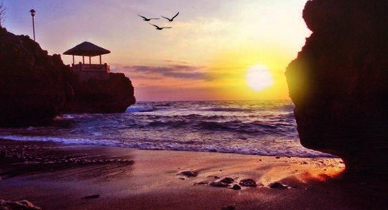 Sunset Di Pantai Anoi Itam