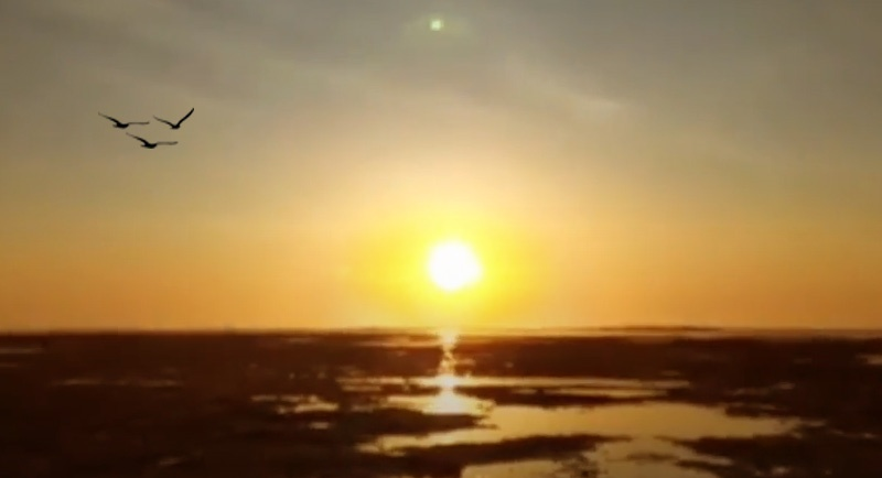 Sunset Di Pantai Cijeruk