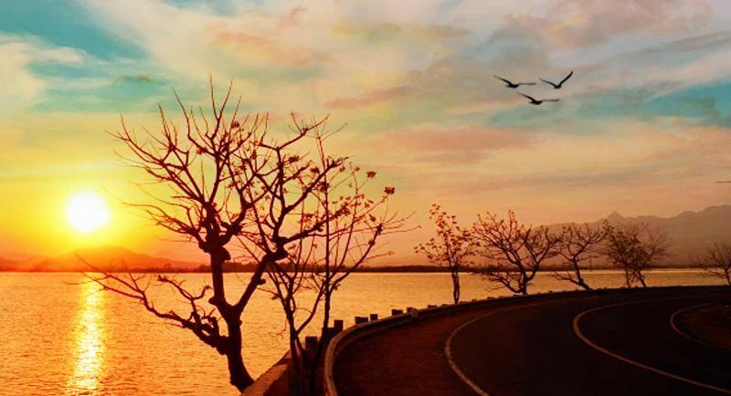Sunset Di Pantai Kalaki