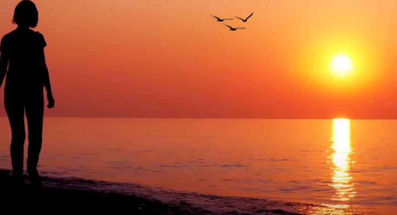 Sunset Di Pantai Lamaru