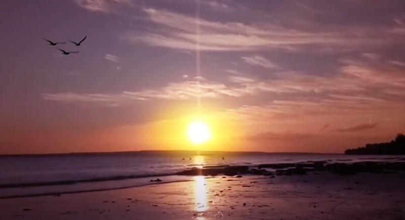 Sunset Di Pantai Nirwana Baubau