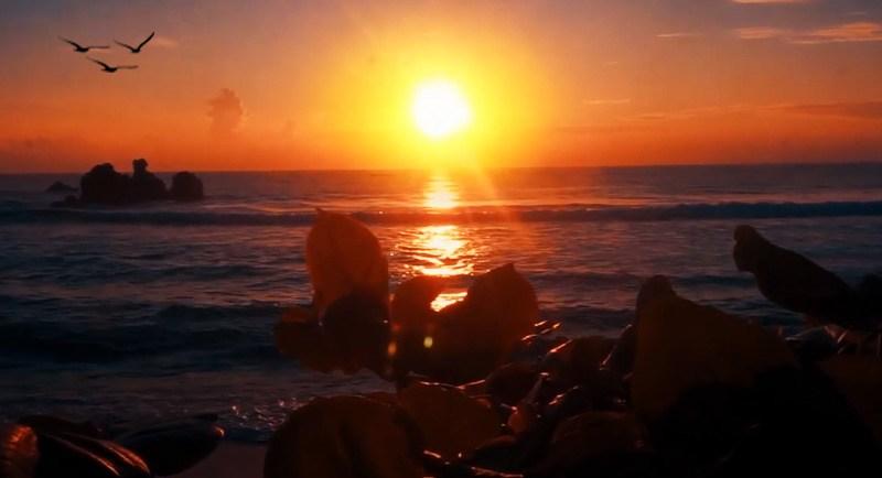 Sunset Di Pantai Pasir Dua Jayapura